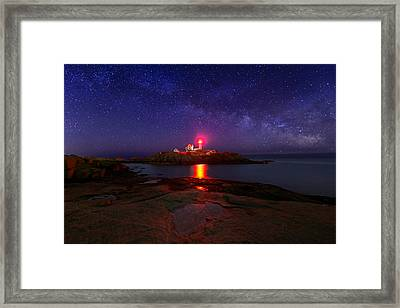 Beacon In The Night Framed Print
