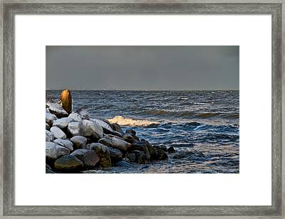 Beacon Framed Print by Odd Jeppesen