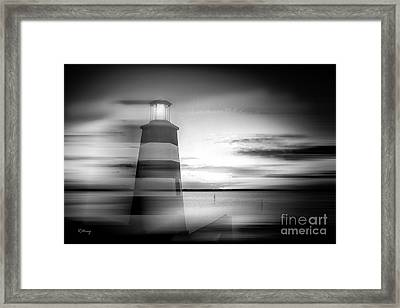 Beacon Of Hope II Framed Print by Rene Triay Photography