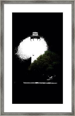 Beacon Of Light Framed Print by Anthony Fishburne