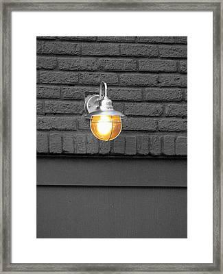Framed Print featuring the photograph Beacon by Rodney Lee Williams