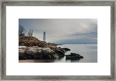 Beacons Of Yesteryear - Full Color Framed Print by Randy Scherkenbach