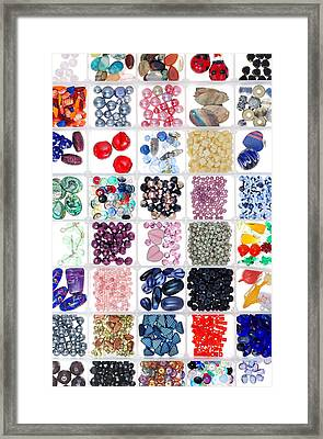 Bead Box Framed Print