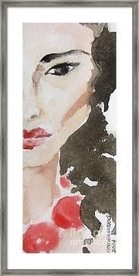 Beaded Framed Print