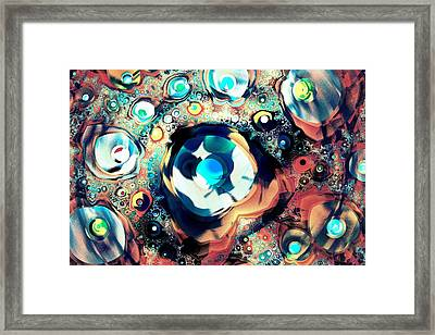 Beads Framed Print by Anastasiya Malakhova