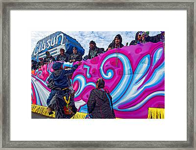 Beads Please Framed Print
