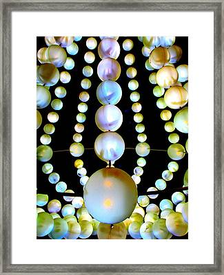 Beads Framed Print by Randall Weidner