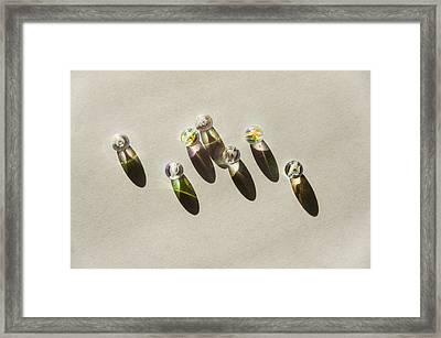 Beads Framed Print by Svetlana Sewell