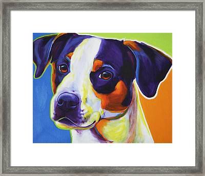 Beagle - Lady Baillee Framed Print