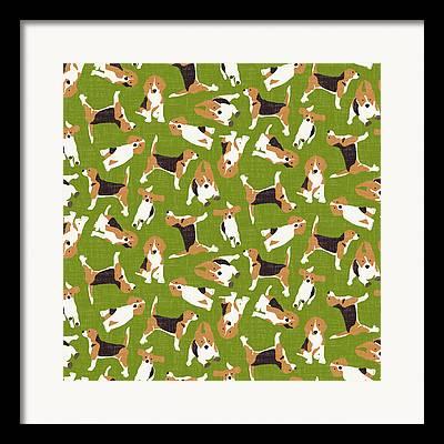 Beagle Framed Prints
