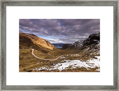 Bealach Na Ba Framed Print by Karl Normington