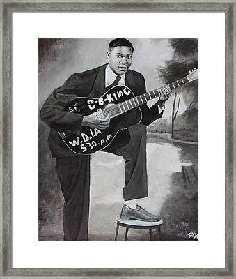 Beale Street Blues Boy Framed Print by Patrick Kelly