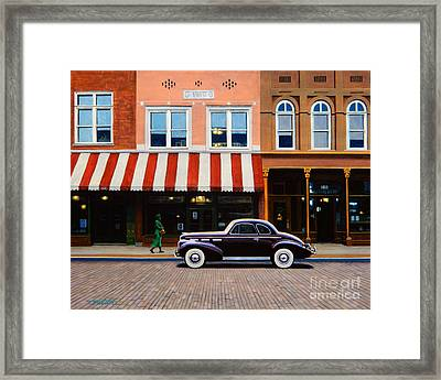 Beale Street Memphis Framed Print by Frank Dalton