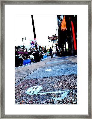 Beale Street Strolling Framed Print