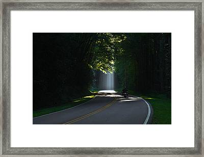 Beam Me Up The Great Smoky Mountains Framed Print