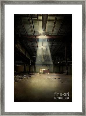 Beam Me Up Framed Print by Evelina Kremsdorf