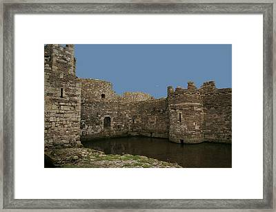 Framed Print featuring the photograph Beamaris Castle by Christopher Rowlands
