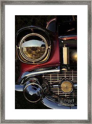 Beaming Framed Print by Luke Moore