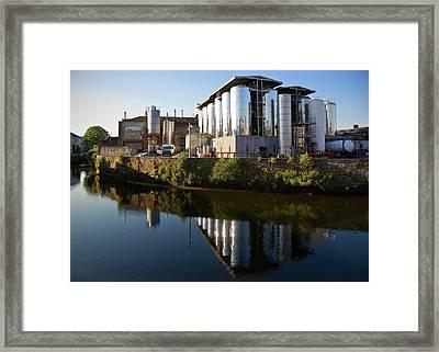 Beamish & Crawford Brewery, River Lee Framed Print