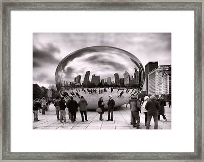Bean Stalking Framed Print by Peter Chilelli