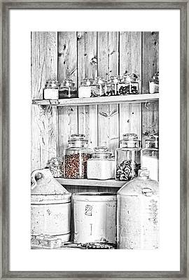 Beans Framed Print by Lori Frostad