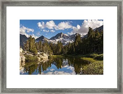 Bear Creek Spire Framed Print
