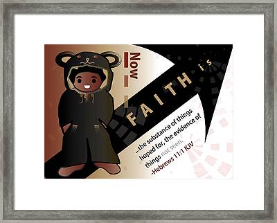 bear fruit-Faith Framed Print by Affini Woodley