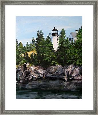 Bear Island Lighthouse Framed Print