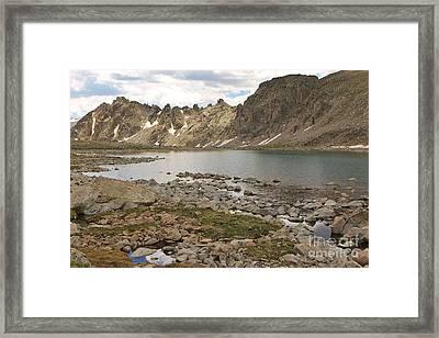 Bear Lake 2 Framed Print by Tonya Hance