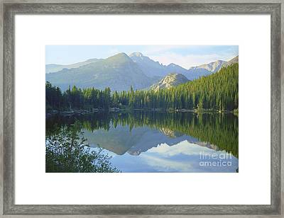 Bear Lake Colorado Framed Print