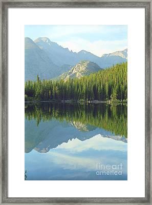 Bear Lake Estes Park Framed Print