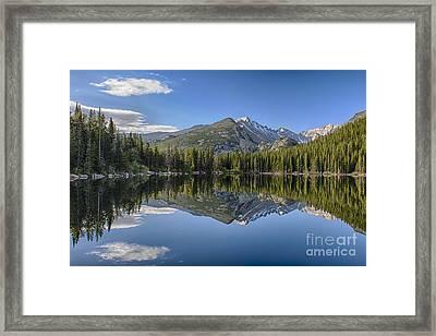 Bear Lake Reflection Framed Print