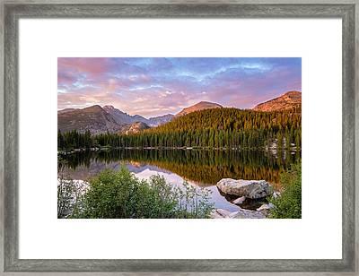 Bear Lake Sunrise Framed Print by Adam Pender