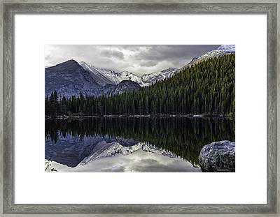 Bear Lake Framed Print by Tom Wilbert