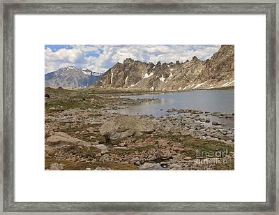 Bear Lake Framed Print by Tonya Hance