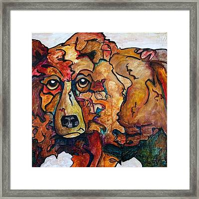 Bear Market Blues Framed Print