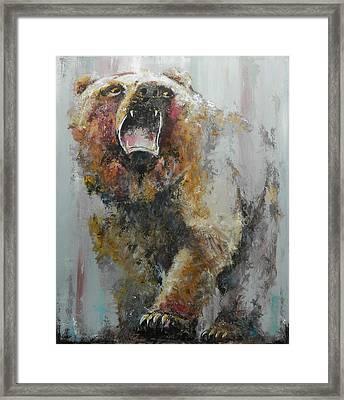 Bear Market Framed Print by John Henne
