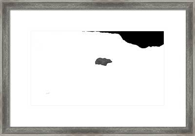 Bear Framed Print by The Art of Marsha Charlebois