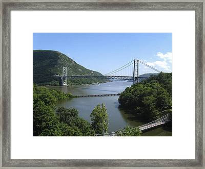 Bear Mountain Bridge Framed Print by Doug McPherson