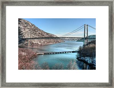 Bear Mountain Bridge Framed Print by JC Findley