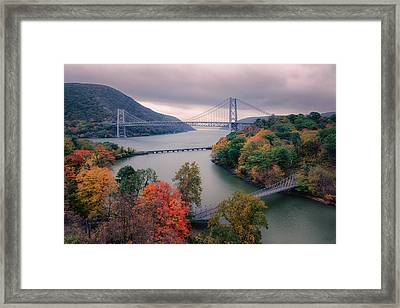 Bear Mountain Bridge Framed Print