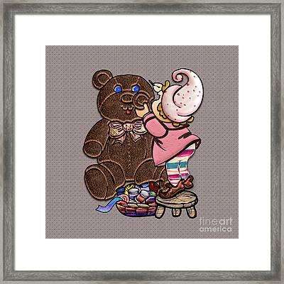 Bear Repair II Framed Print