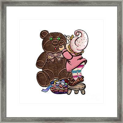 Bear Repair Shop Framed Print