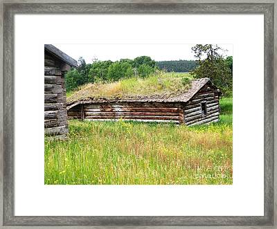 Framed Print featuring the photograph Bear Springs by Ann E Robson
