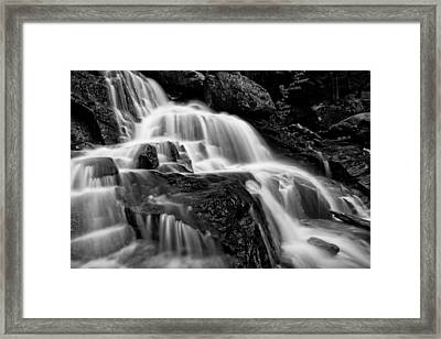 Bearcamp River Cascades- Beede Falls Framed Print