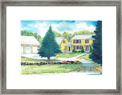 Bearce Home Framed Print