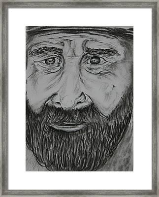 Bearded Man Framed Print by Paul Morgan