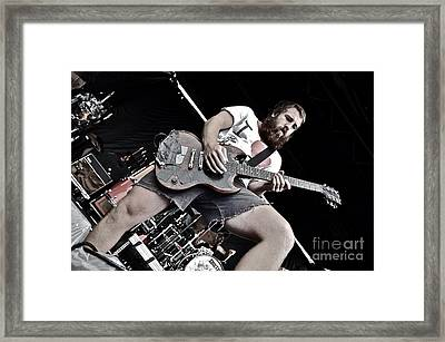 Beardo Framed Print by Kyle Robish