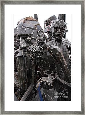 Beardy Framed Print by Rick Kuperberg Sr
