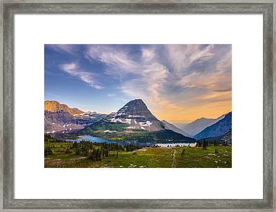 Bearhat Mountain Framed Print